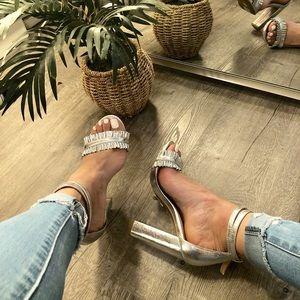 Silver Charlotte Russe Heels